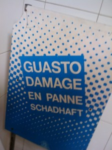 Guasto ungleich Schadhaft :)